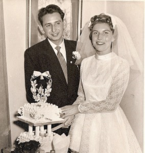 Mum and Dad in the beginning
